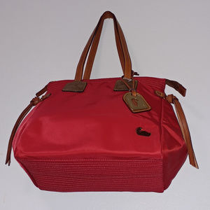 Dooney & Bourke Handbag Nylon Red NWOT
